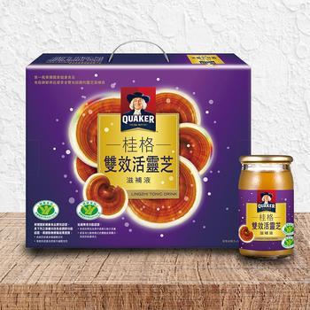 桂格 雙效活靈芝滋補液 60 毫升 30 入 QUAKER Lingzhi Tonic Drink 60 ml 30 Counts-Costco