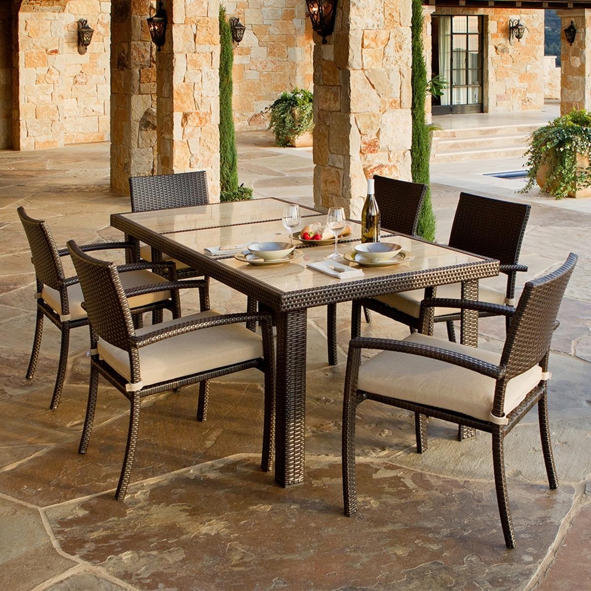 戶外餐桌椅七件組