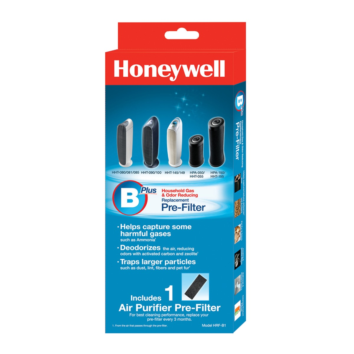 Honeywell CZ除臭濾網2盒入(HRF-B1)