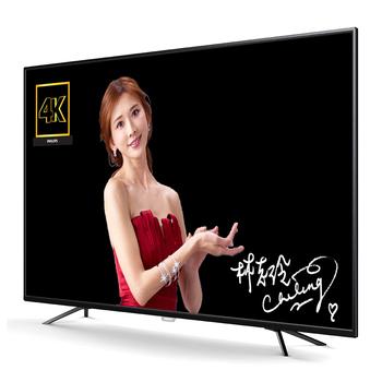 Philips65吋4KUHD顯示器+視訊盒65PUH6002