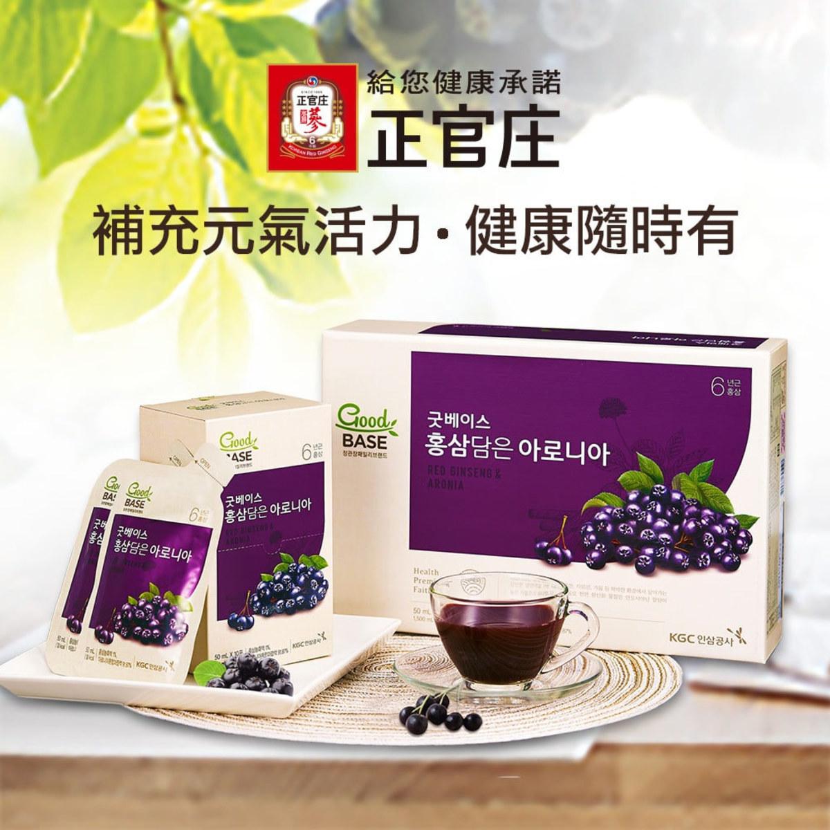 正官庄高麗蔘野櫻莓飲
