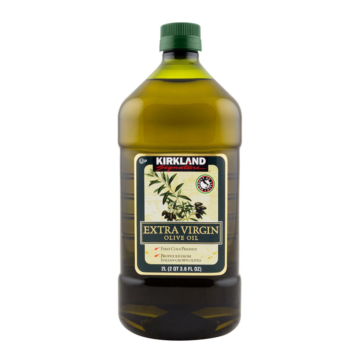 Kirkland Signature 科克蘭 冷壓初榨橄欖油 2公升