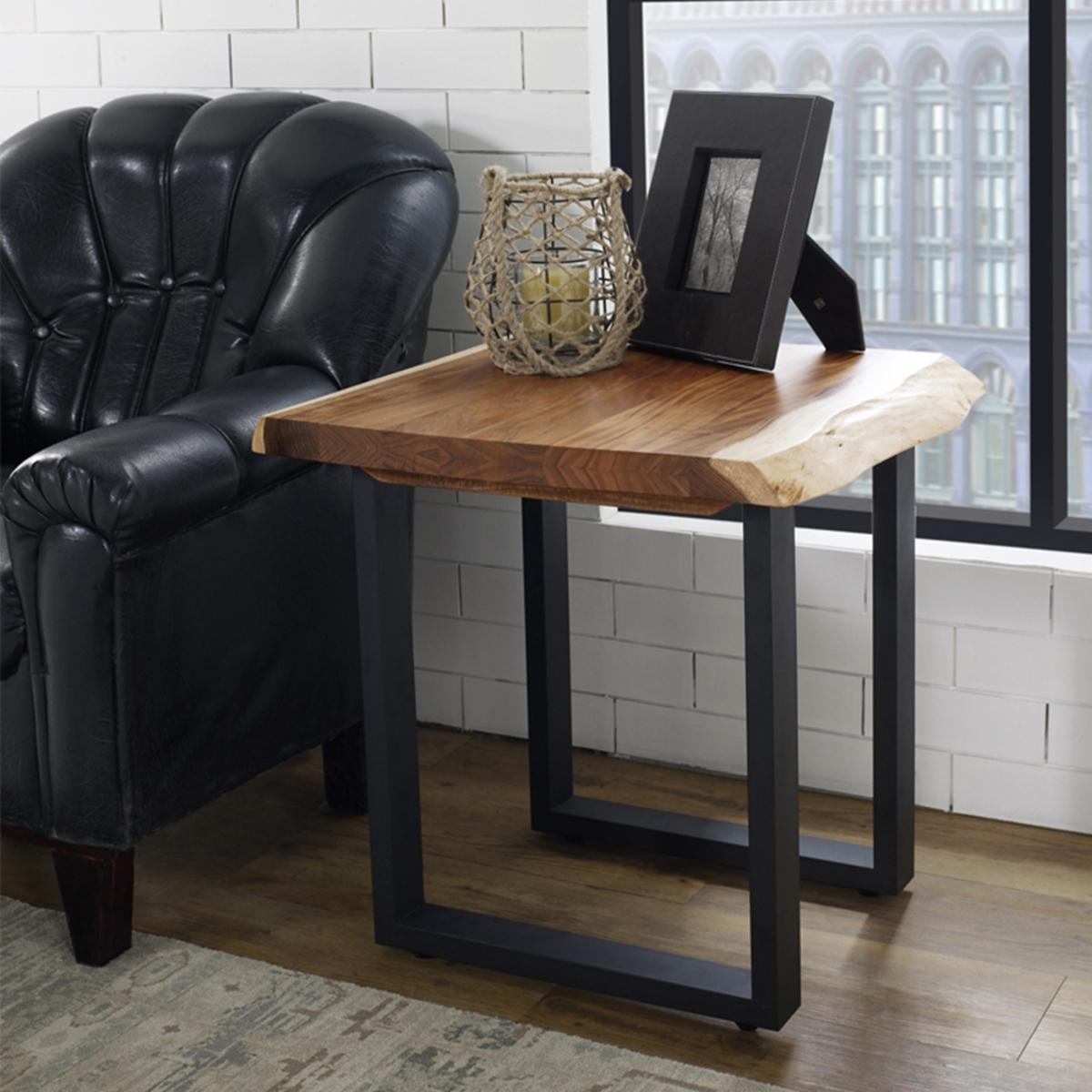 LFN實木造型邊桌